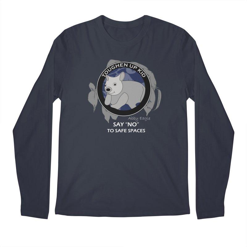 Wombat t-shirt - blue Men's Longsleeve T-Shirt by Abby Eagle
