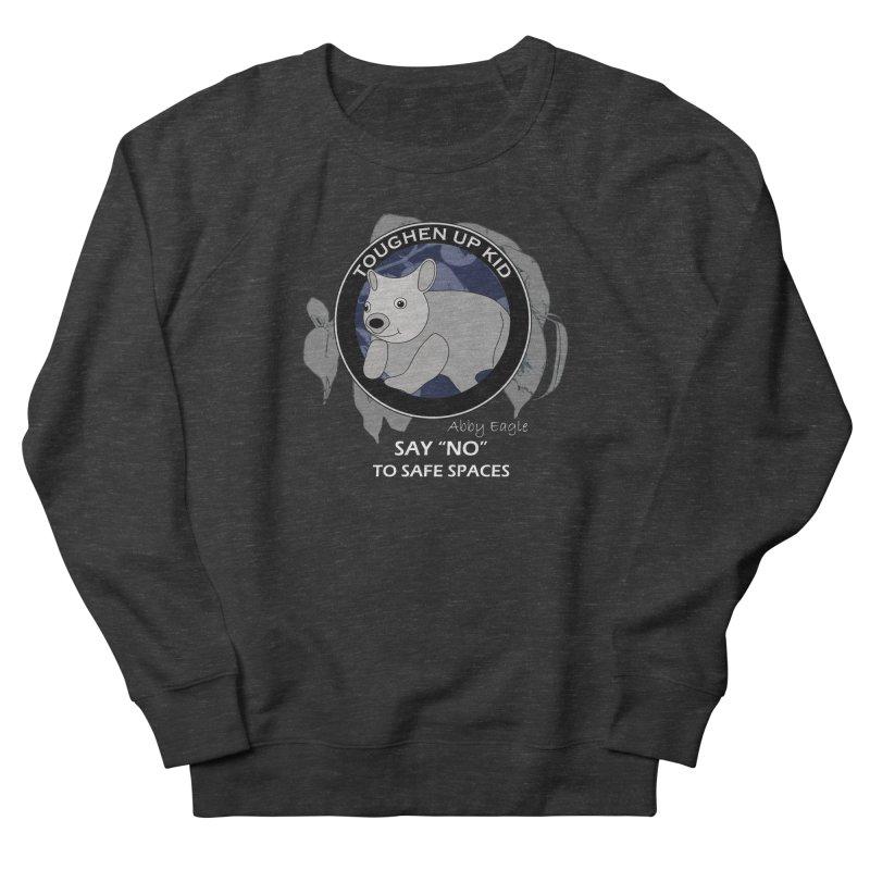 Wombat t-shirt - blue Men's Sweatshirt by Abby Eagle