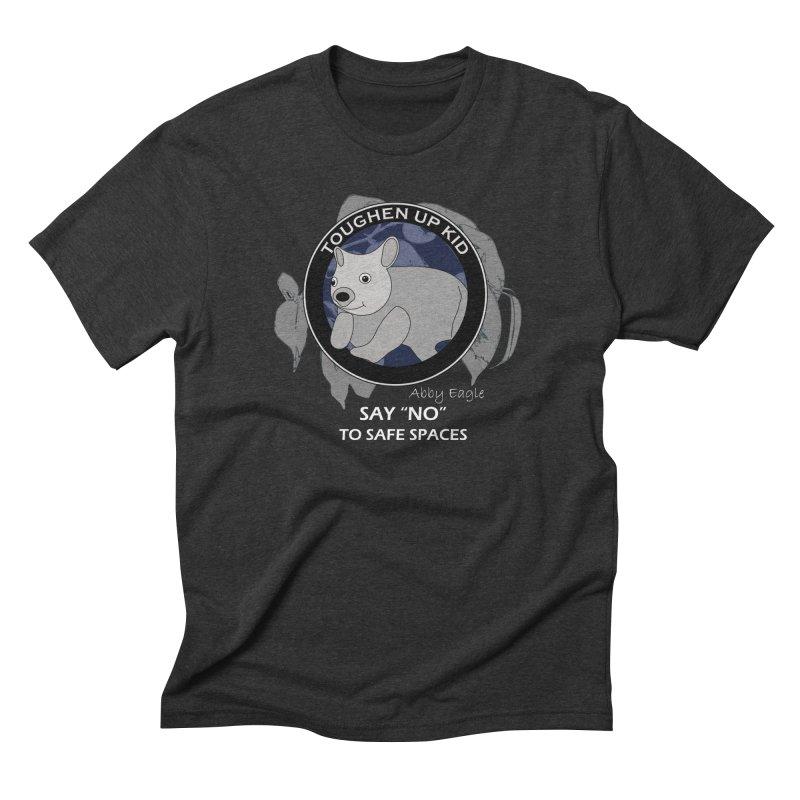 Wombat t-shirt - blue Men's T-Shirt by Abby Eagle