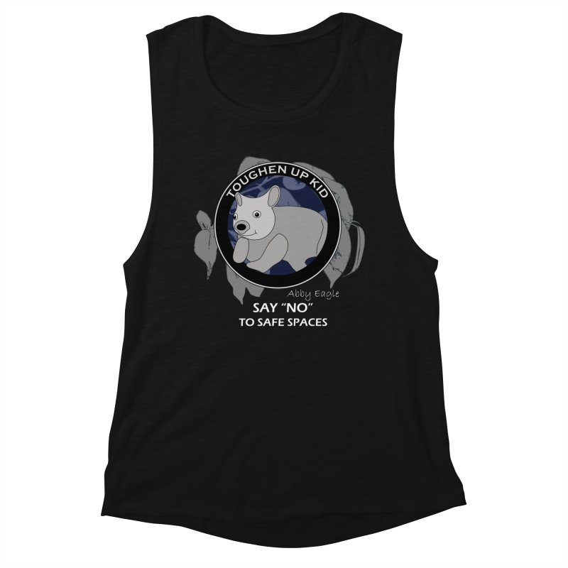 Wombat t-shirt - blue Women's Tank by Abby Eagle