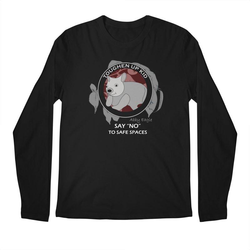 Wombat t-shirt - red Men's Longsleeve T-Shirt by Abby Eagle