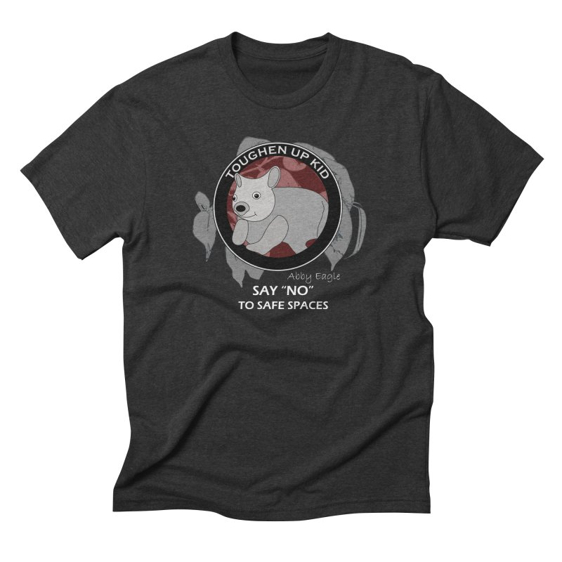 Wombat t-shirt - red Men's T-Shirt by Abby Eagle