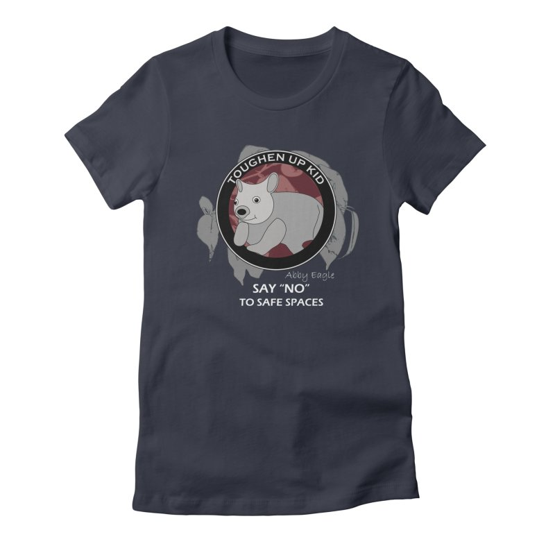 Wombat t-shirt - red Women's T-Shirt by Abby Eagle