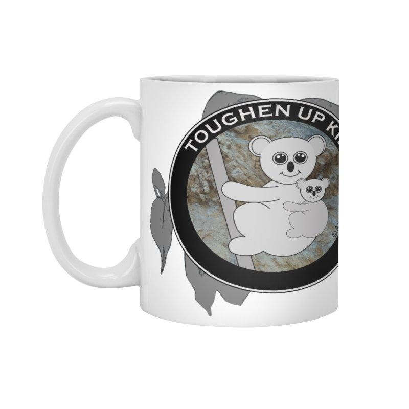 Koala rock - white mug Accessories Mug by Abby Eagle