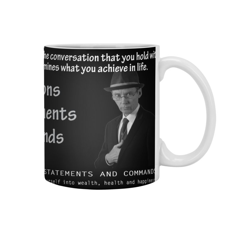 Questions - statements - commands Accessories Mug by Abby Eagle