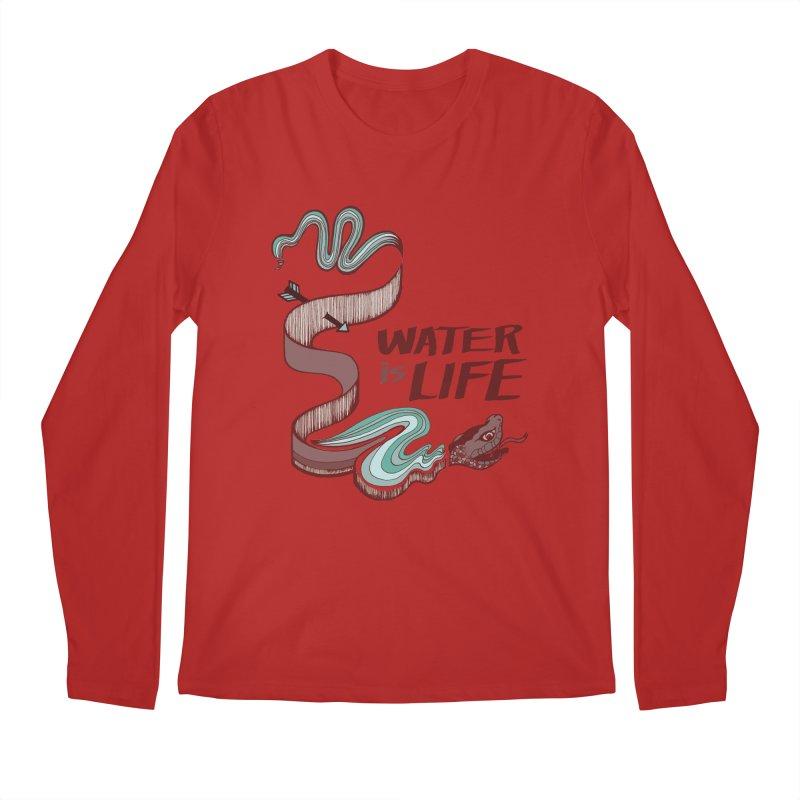 I Stand With Standing Rock Men's Longsleeve T-Shirt by abbyfitzgibbon's Artist Shop