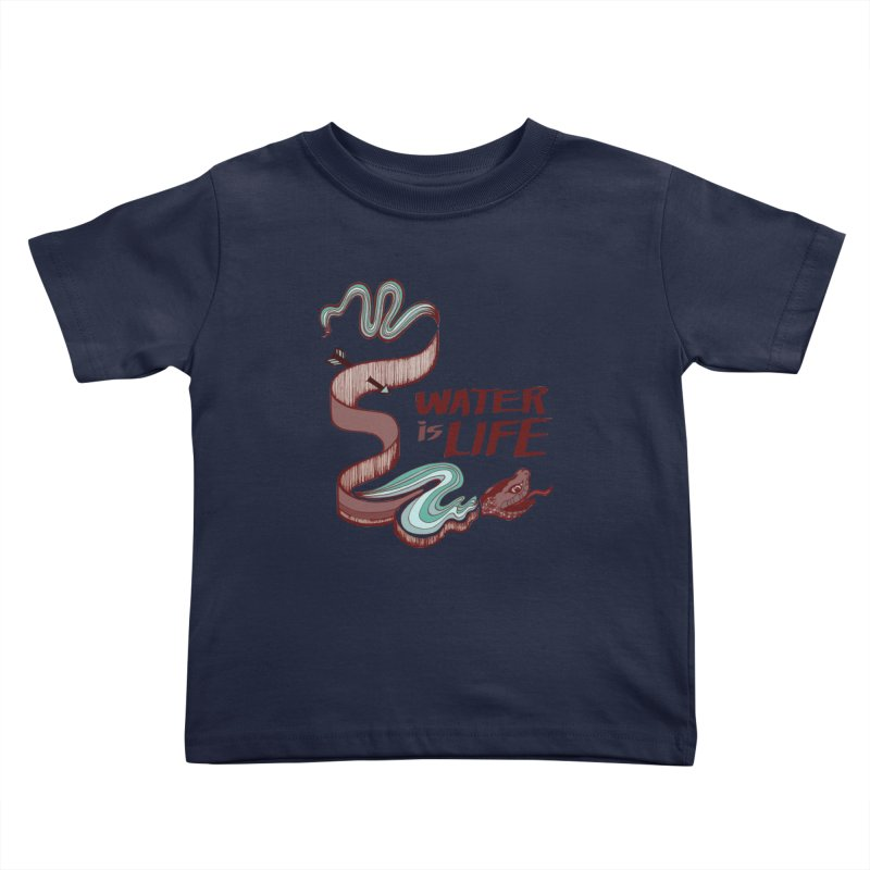 I Stand With Standing Rock Kids Toddler T-Shirt by abbyfitzgibbon's Artist Shop