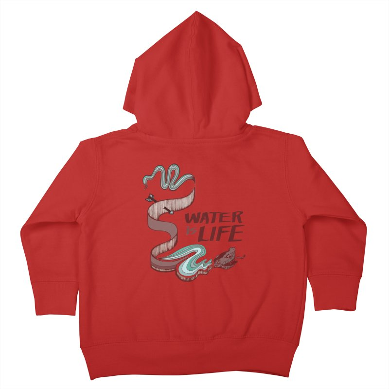 I Stand With Standing Rock Kids Toddler Zip-Up Hoody by abbyfitzgibbon's Artist Shop