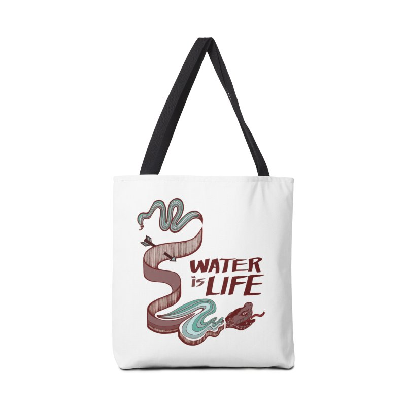 I Stand With Standing Rock Accessories Bag by abbyfitzgibbon's Artist Shop