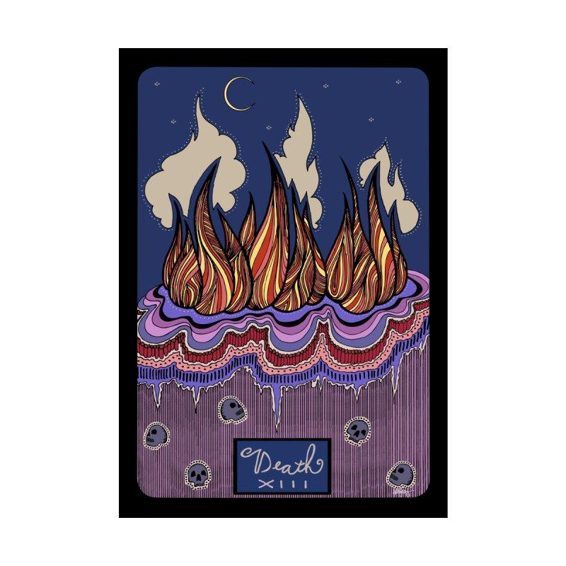 Original Illustrated Tarot Cards: Death None  by abbyfitzgibbon's Artist Shop
