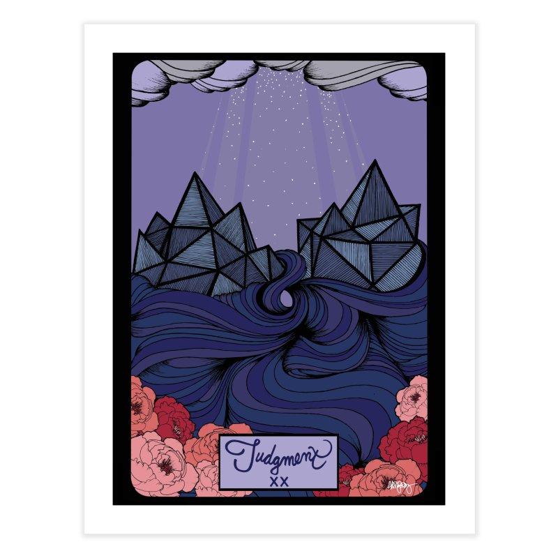Original Illustrated Tarot Cards: Judgment Home Fine Art Print by abbyfitzgibbon's Artist Shop