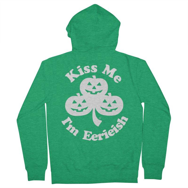 Kiss Me, I'm Eerieish Women's Zip-Up Hoody by ABELACLE.