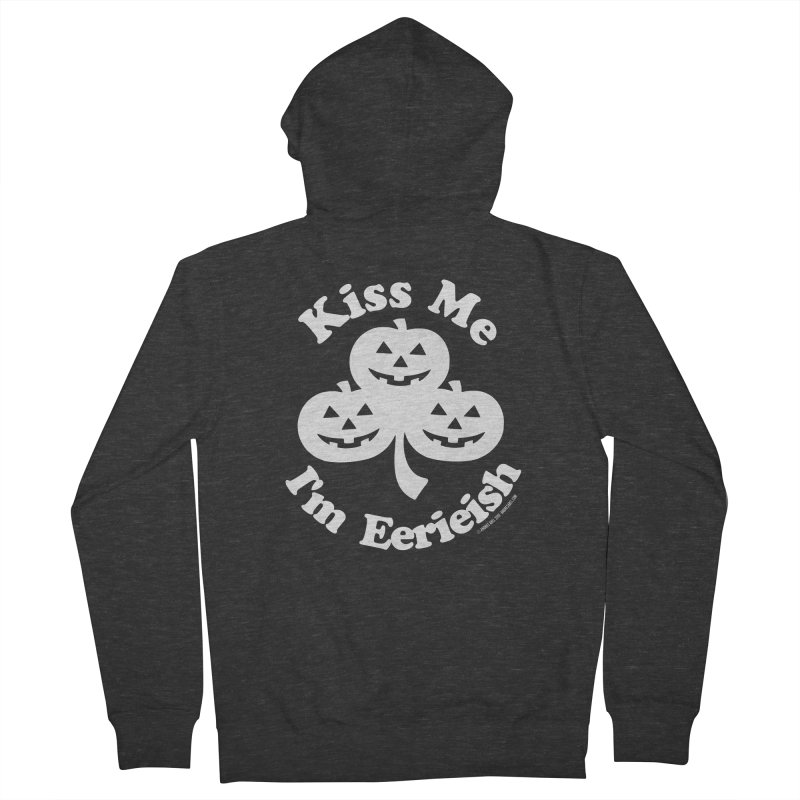 Kiss Me, I'm Eerieish Women's French Terry Zip-Up Hoody by ABELACLE