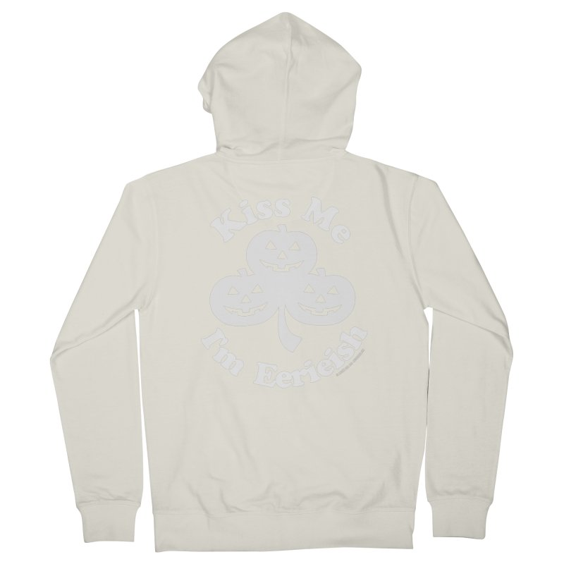 Kiss Me, I'm Eerieish Men's French Terry Zip-Up Hoody by ABELACLE