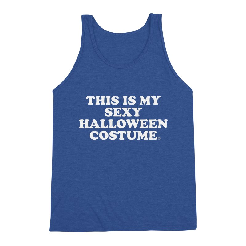 This Is My Sexy Halloween Costume Men's Tank by ABELACLE.