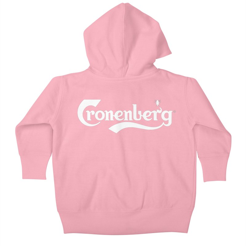Cronenberg Kids Baby Zip-Up Hoody by ABELACLE.