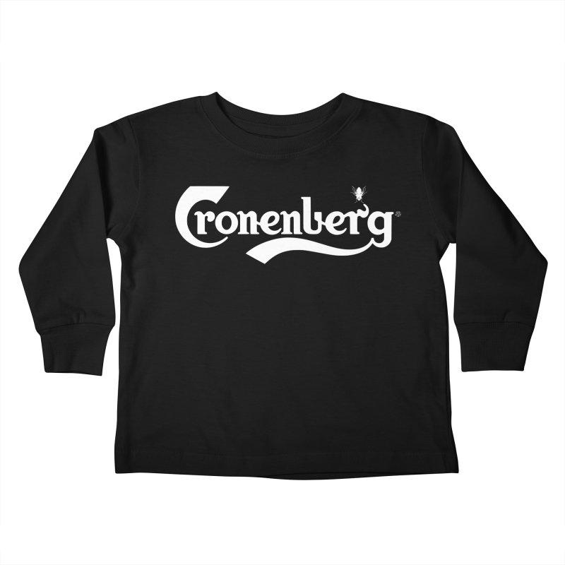 Cronenberg Kids Toddler Longsleeve T-Shirt by ABELACLE.