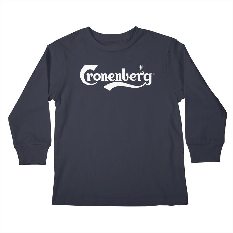 Cronenberg Kids Longsleeve T-Shirt by ABELACLE.