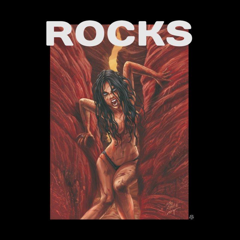 Rocks Women's V-Neck by ABELACLE.