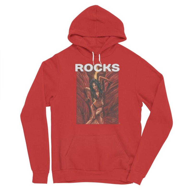 Rocks Men's Pullover Hoody by ABELACLE.