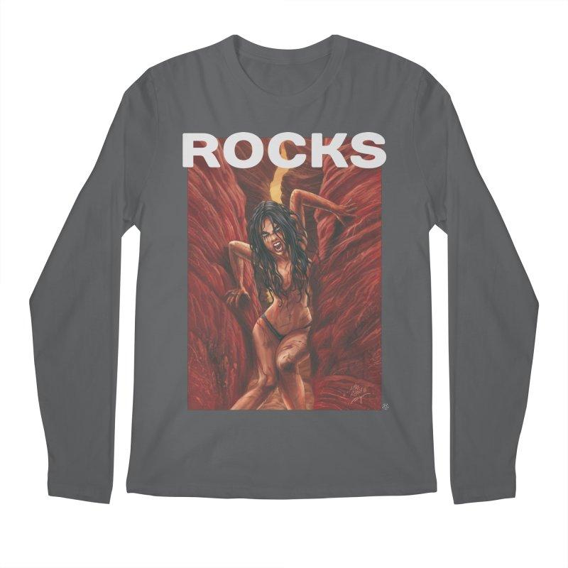 Rocks Men's Longsleeve T-Shirt by ABELACLE.