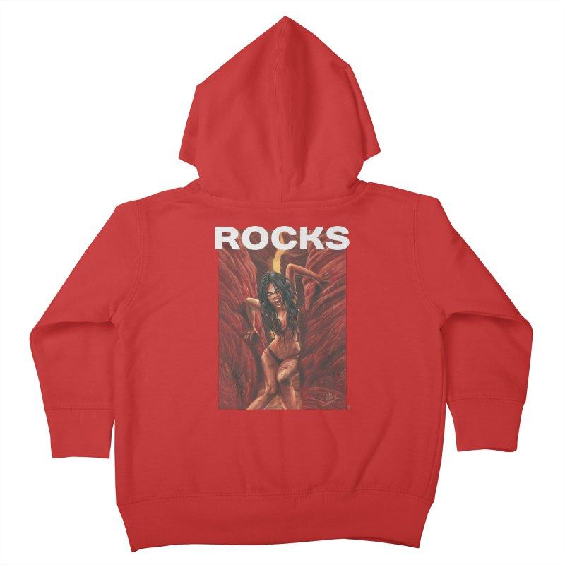 Rocks Kids Toddler Zip-Up Hoody by ABELACLE.