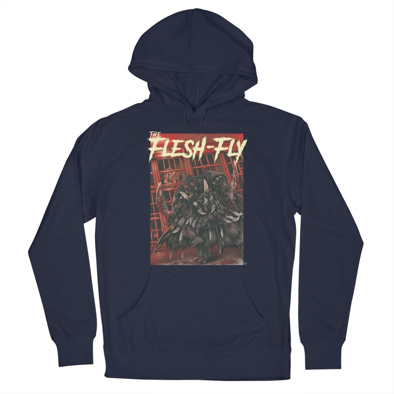 The Flesh Fly Men's Pullover Hoody by ABELACLE.