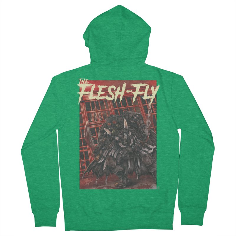 The Flesh Fly Women's Zip-Up Hoody by ABELACLE.