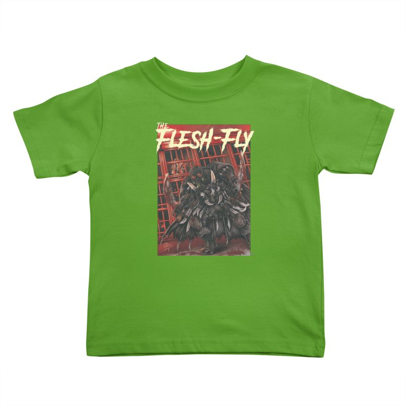 The Flesh Fly Kids Toddler T-Shirt by ABELACLE.