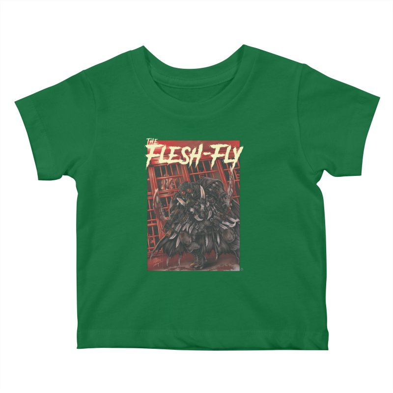 The Flesh Fly Kids Baby T-Shirt by ABELACLE.