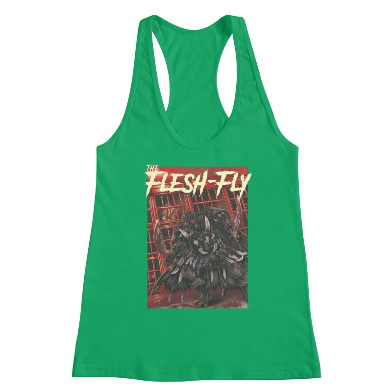 The Flesh Fly Women's Tank by ABELACLE.