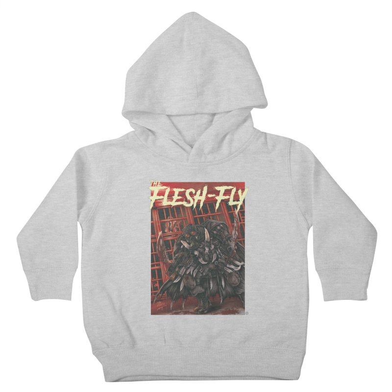 The Flesh Fly Kids Toddler Pullover Hoody by ABELACLE.