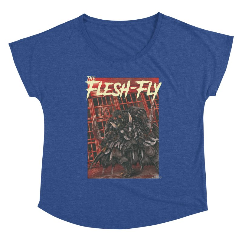 The Flesh Fly Women's Scoop Neck by ABELACLE.