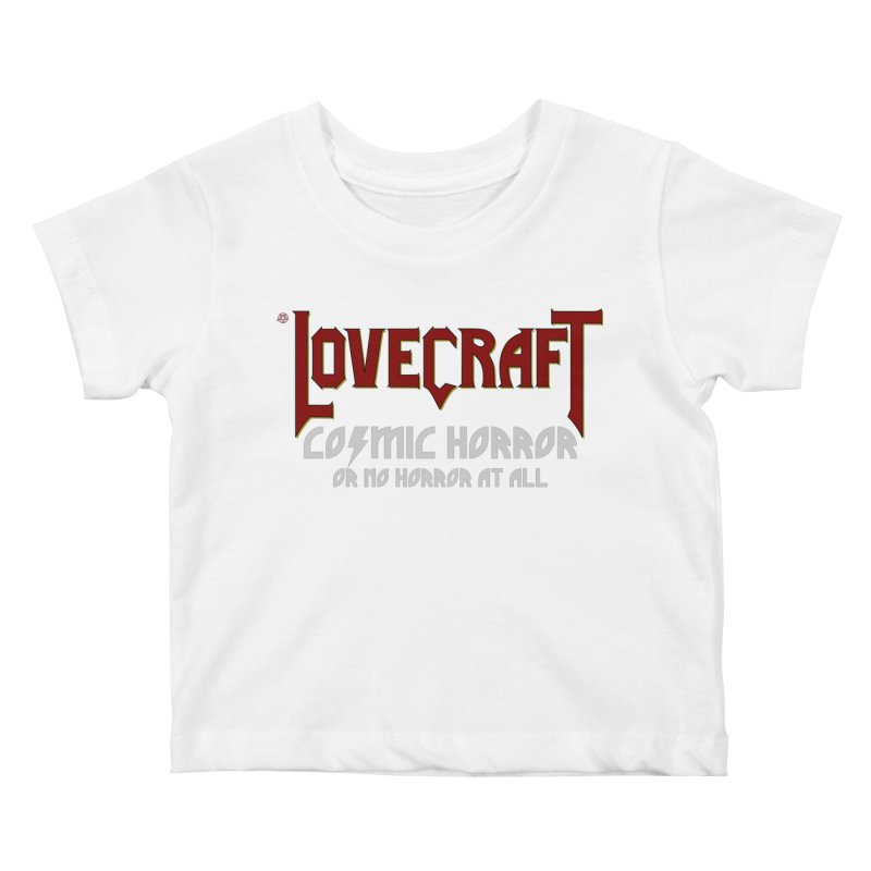 Manorror Kids Baby T-Shirt by ABELACLE.