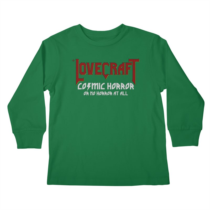 Manorror Kids Longsleeve T-Shirt by ABELACLE.