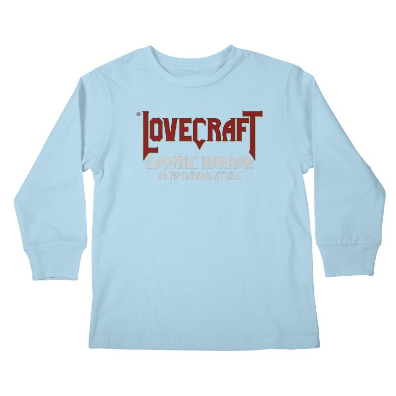 Manorror Kids Longsleeve T-Shirt by ABELACLE.