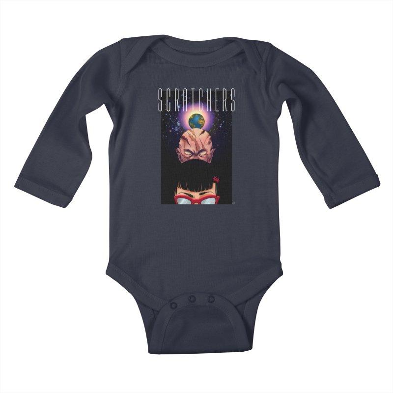 Scratchers Kids Baby Longsleeve Bodysuit by ABELACLE.