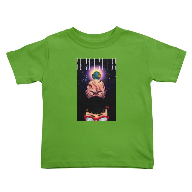 Scratchers Kids Toddler T-Shirt by ABELACLE.