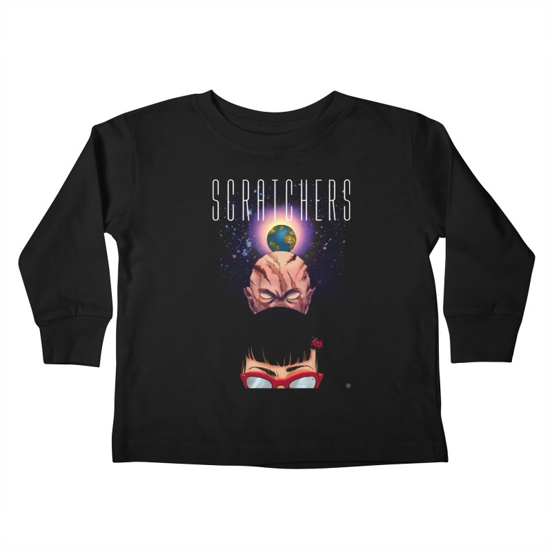 Scratchers Kids Toddler Longsleeve T-Shirt by ABELACLE.