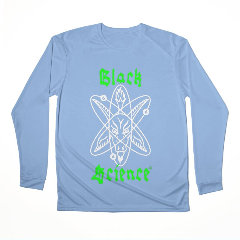 Black Science Men's Longsleeve T-Shirt by ABELACLE.