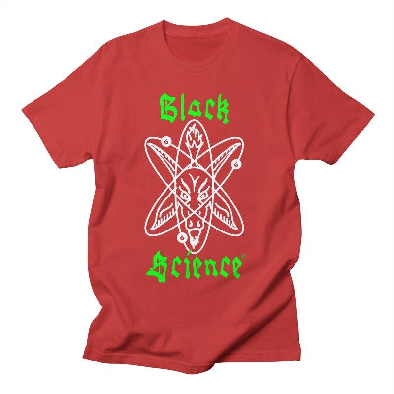 Black Science Men's T-Shirt by ABELACLE.