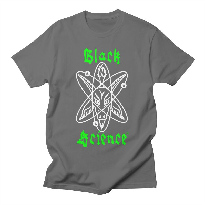 Black Science Men's T-Shirt by ABELACLE.