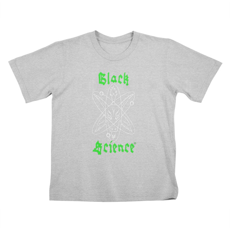 Black Science Kids T-Shirt by ABELACLE.