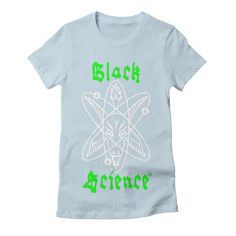 Black Science Women's T-Shirt by ABELACLE.