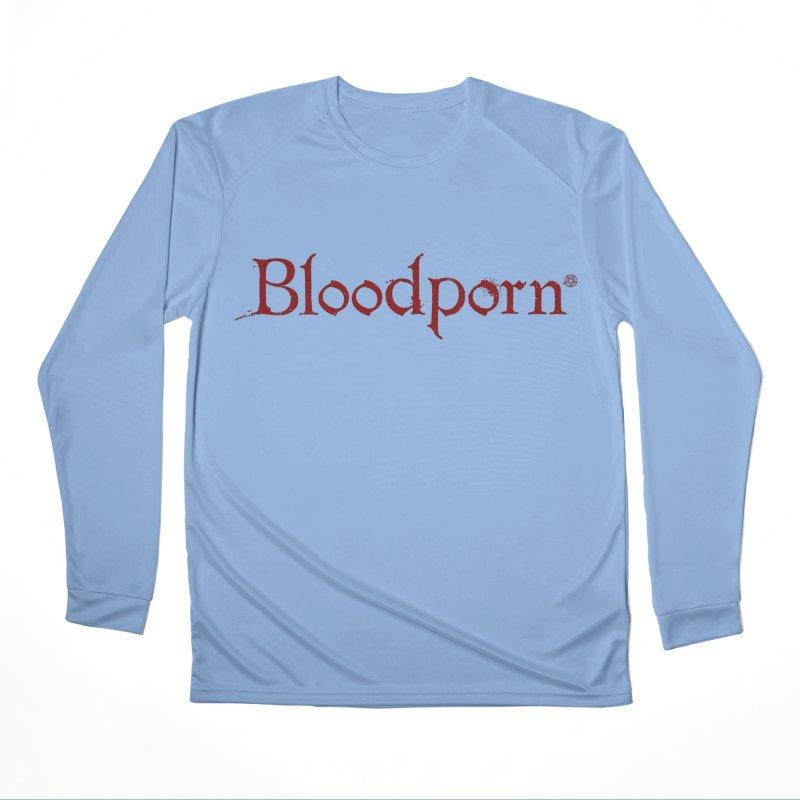 Bloodporn Men's Longsleeve T-Shirt by ABELACLE.