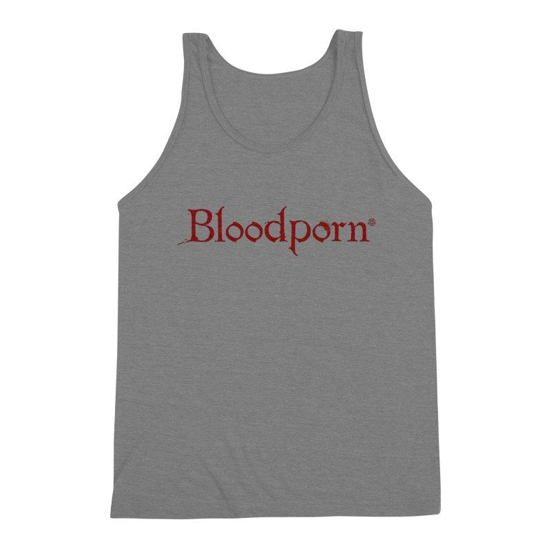 Bloodporn Men's Tank by ABELACLE.