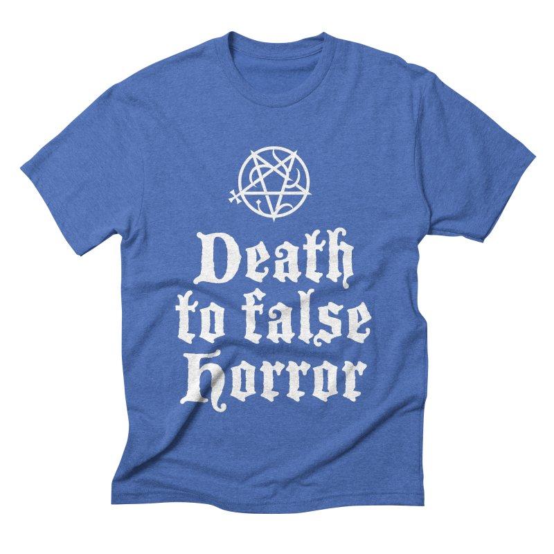Death to False Horror Men's T-Shirt by ABELACLE.