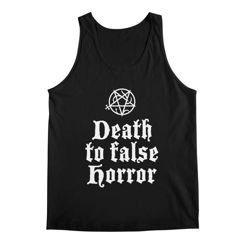 Death to False Horror Men's Tank by ABELACLE.