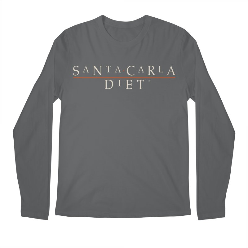 Santa Carla Diet Men's Longsleeve T-Shirt by ABELACLE.