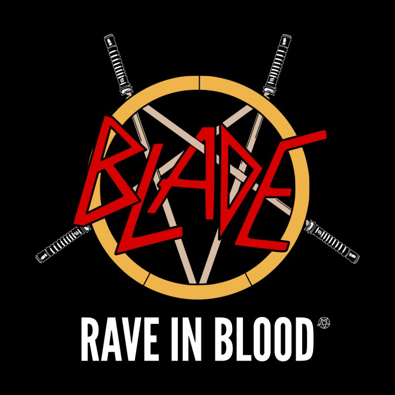 Rave in Blood Kids Baby Zip-Up Hoody by ABELACLE.